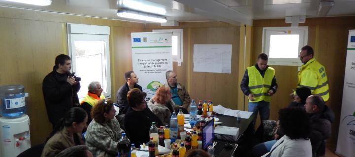 """Prezentarea contractului """"Închidere depozit neconform Ianca și construcție depozit conform și stație de sortare Ianca din cadrul Proiectului Sistem de management integrat al deșeurilor în județul Brăila"""" – Proiect cofinanțat din Fondul European de Dezvoltare Regională"""
