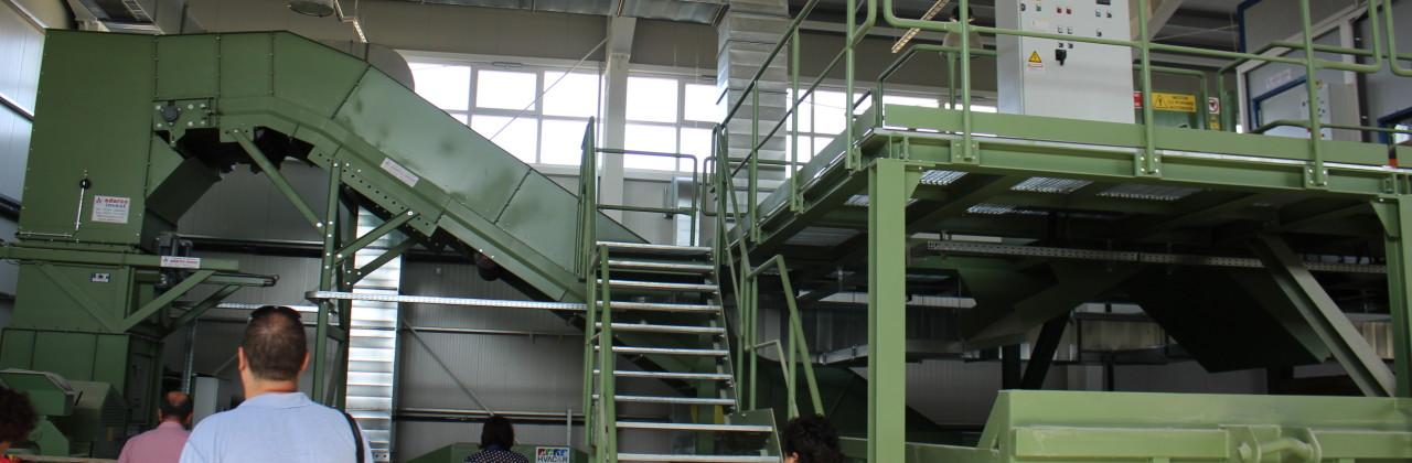 """Lucările continuă la construcția Stației de transfer Însurăței din cadrul  Proiectului """"Sistemul de management integrat al deșeurilor în județul Brăila"""" – Proiect cofinanțat din Fondul European de Dezvoltare Regională"""